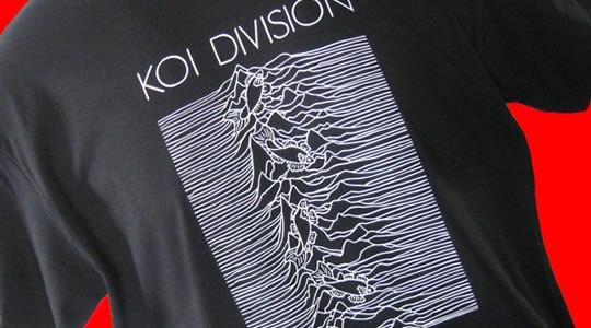 Koi Division: quando o mar encontra o Joy Division