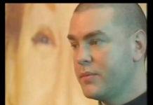 Vaughan Olivier na TV e fazendo exposição em 1990