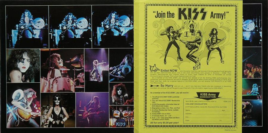 Quando a primeira peça de merchandising do Kiss era um programa de turnê