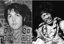 "Paul McCartney resenhando Jimi Hendrix para a ""Melody Maker"""