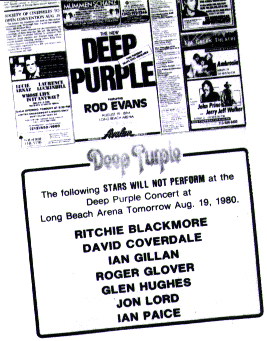 "O ""Deep Purple falso"" de 1980"