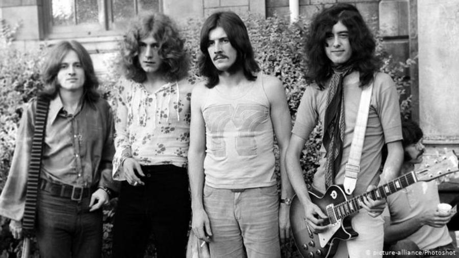 Quando o Led Zeppelin trocou de nome por um dia