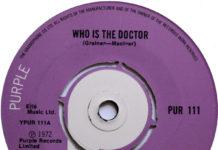 Quando a gravadora do Deep Purple lançou um single da série Doctor Who