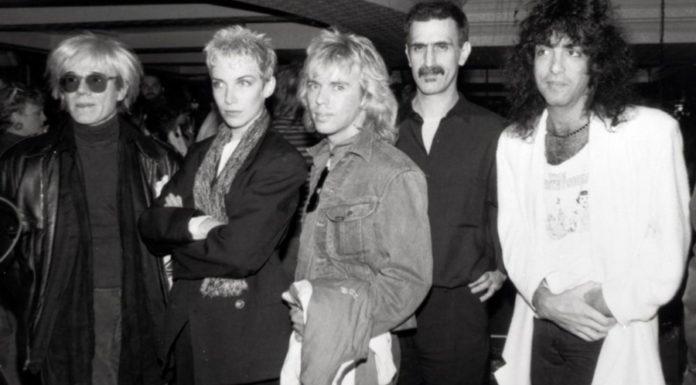 Uma entrevista bizarra de Andy Warhol com Frank Zappa
