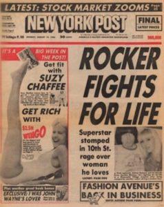 Quando Johnny Ramone foi pisoteado na cabeça e quase morreu