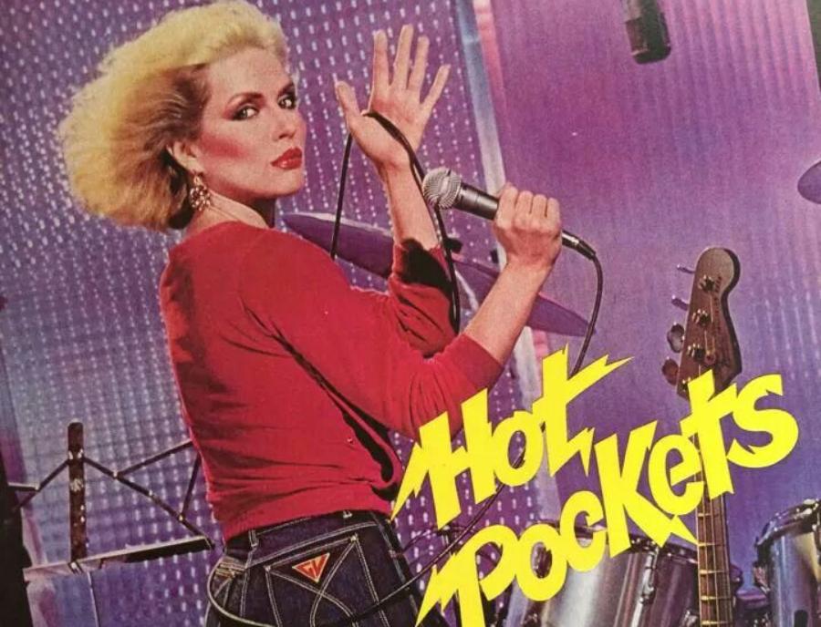 Debbie Harry fazendo propaganda de jeans em 1980