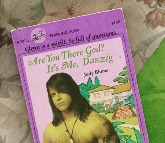 Glenn Danzig apresenta sua coleção de livros
