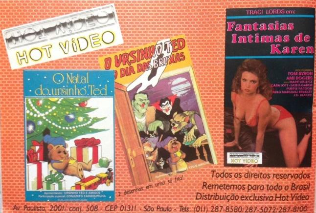 Anúncios infantis de antigas revistas de vídeo que hoje parecem bem estranhos