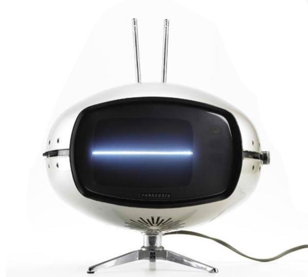 """Lembranças do Orbitel, a TV """"espacial"""" da Panasonic"""