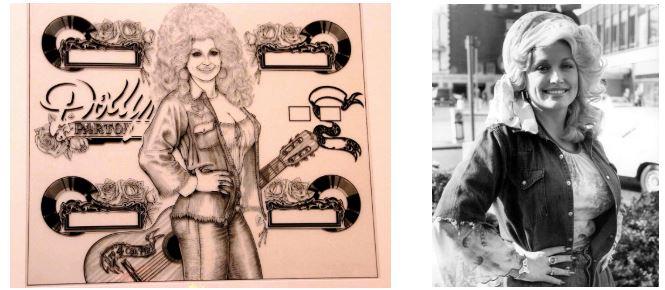 Quando transformaram Dolly Parton em personagem de pinball
