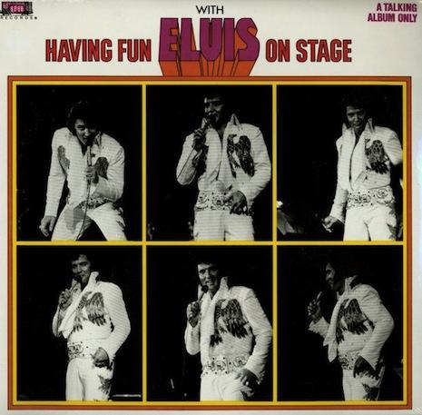 Having Fun With Elvis On Stage: o disco mais esquisito de Elvis Presley