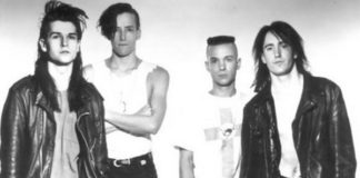 Nine Inch Nails alegrinho no Dance Party USA