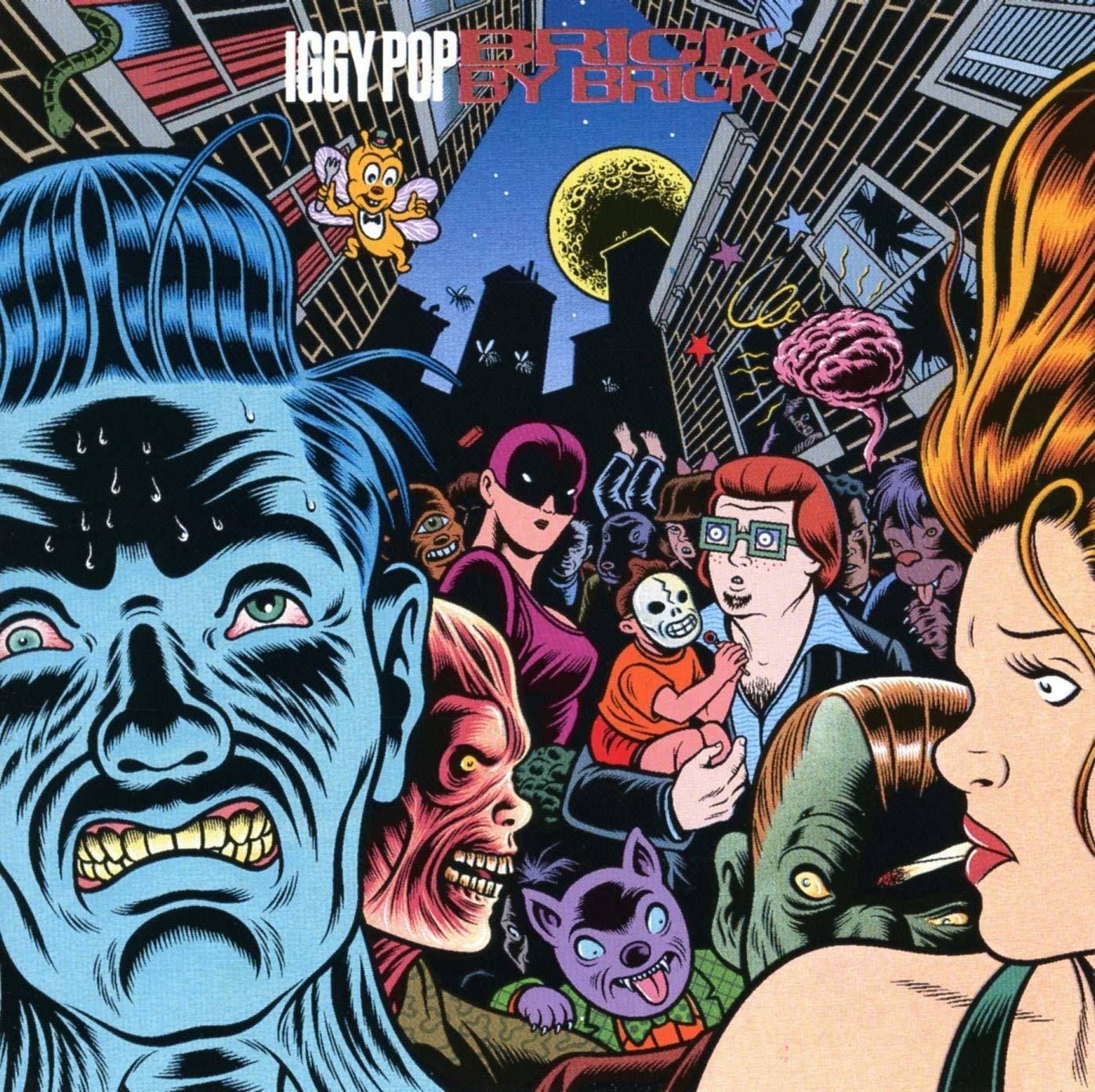 Como surgiu a capa de Brick By BricK, de Iggy Pop