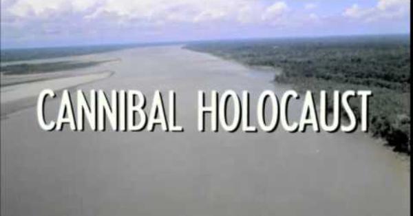 Que trilha linda a desse filme, Holocausto Canibal... não, pera