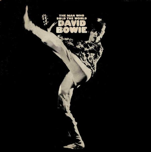 Capa do relançamento de The Man Who Sold The World em 1972 pela RCA
