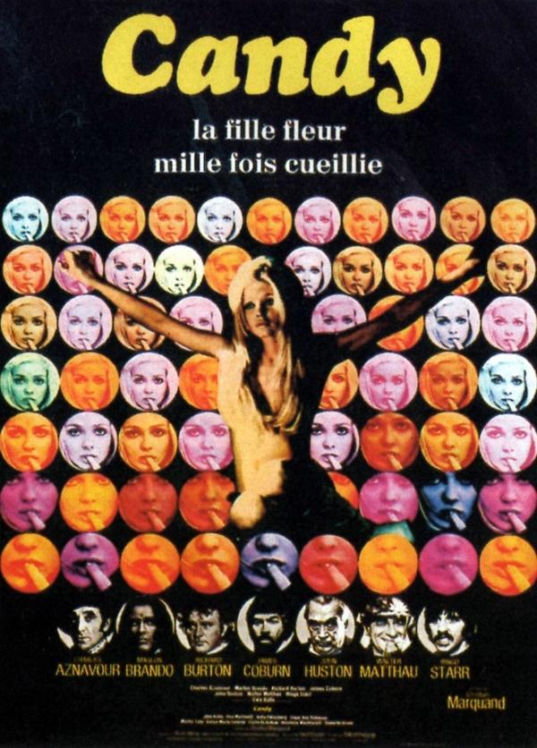 Candy: quando Marlon Brando interpretou um guru hippie safadinho