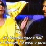 Kurt Cobain zoando o MTV Headbangers Ball
