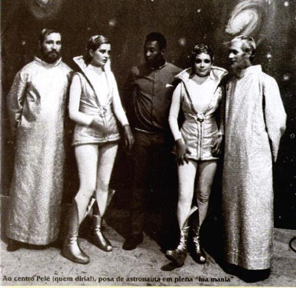 Aquela época em que Pelé foi ator de novela