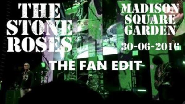 Stone Roses no Madison Square Garden: o DVD