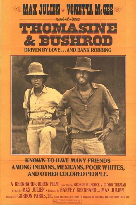 """""""Thomasine & Bushrod"""", um faroeste black, com trilha do Love"""