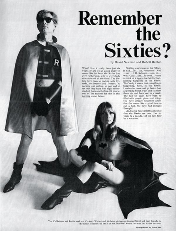 A mania de Andy Warhol com Batman