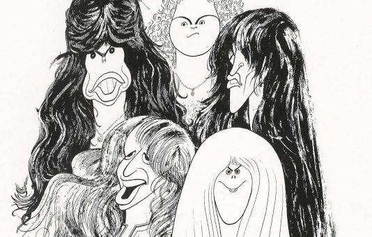 Al Hirschfeld, o cara por trás da capa de Draw The Line, do Aerosmith