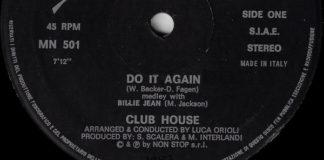 Pera, existiu uma banda chamada Club House?