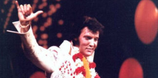 Elvis Presley com: Marvin Gaye, Jimmy Page, Noel Gallagher, Keith Moon, Sheryl Crow e Stevie Wonder (??)
