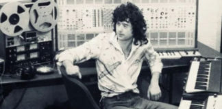 Jimmy Page, o mago do sintetizador