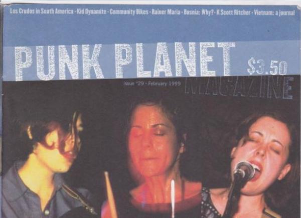 As oitenta edições do fantástico zine Punk Planet estão na web