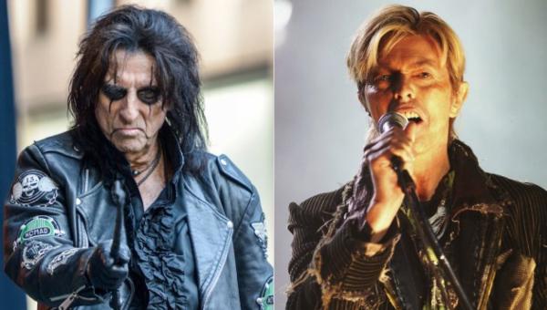 Alice Cooper lembra de ter encorajado David Bowie