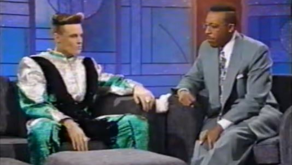 Arsenio Hall vs. Vanilla Ice