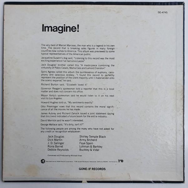 Quando Marcel Marceau lançou um disco só com silêncio