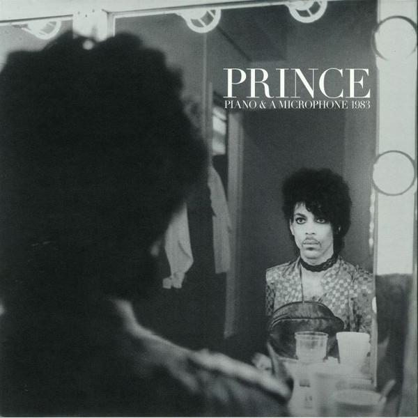"""Capa do disco de Prince """"Piano and a microphone 1983"""""""