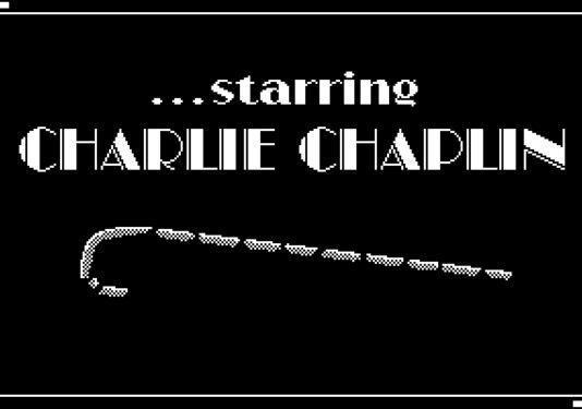 Quando fizeram um game em homenagem a Charlie Chaplin