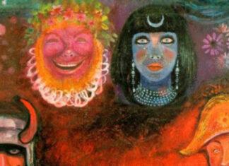 E a capa de In The Wake Of Poseidon, do King Crimson?