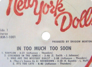 Mixtape Pop Fantasma #1: New York Dolls