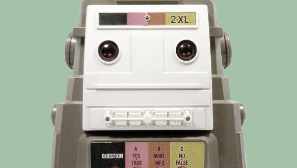 Um robô interativo de 1978 que não era interativo p... nenhuma