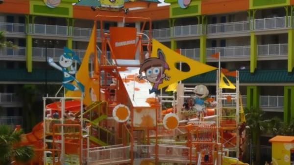 O hotel da Nickelodeon