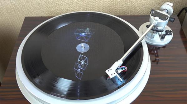 LP de Star Wars com... holograma no vinil (!!)