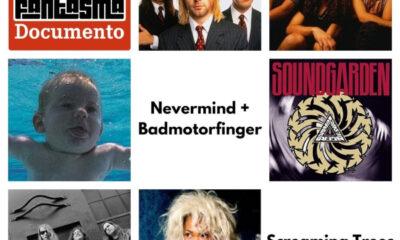 No podcast do POP FANTASMA, Nevermind + Badmotorfinger + Screaming Trees + Tina Bell