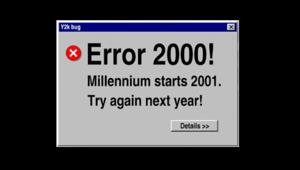 Lembrando o bug do milênio